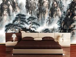 Modern Japanese Bedroom Design Attractive Japanese Bedroom Decor With Natural Themes Using Wooden