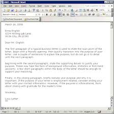 Microsoft Business Letter Templates Tutorial Creating A Business Letter Template