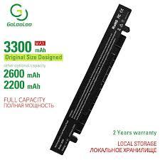 <b>Golooloo 4 cells laptop</b> battery for Asus K550LC K550V K550VB ...