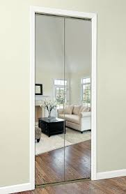 Bifold Mirrored Closet Doors Exciting French White Door Grey Wall