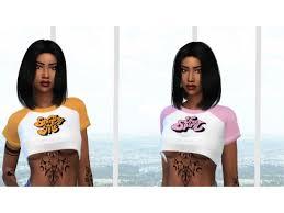 blckch3rry BlckCh3rry Jodie Top Recolor - The Sims 4 Download -  SimsDomination