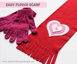 child s fleece scarf