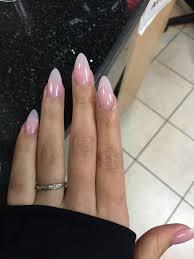 Natural Almond Shaped Nails Nails Diseños De Uñas Naturales