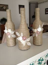wine bottle decorating ideas | Wine bottle decor