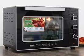 Lò nướng Sanaky VH5099S2D 50 lít - Hàng trưng Bày CHÍNH HÃNG- Có quạt đối  lưu giúp lan tỏa nhiệt khắp lò làm chín thức ăn đều, ngon.
