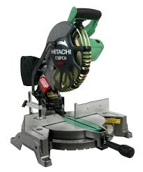 miter saw labeled. hitachi c10fch 10\ miter saw labeled
