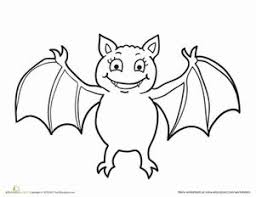 Small Picture Coloring Pages Bat Page To Print Preschool Printable For Kids