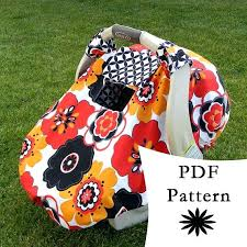 car seat cover pattern fitted car seat canopy with k a boo window pattern tutorial car