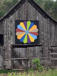 724 best Barn Quilts images on Pinterest | Bed duvets, China ... & Dresden Plate Barn Quilt Adamdwight.com