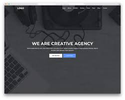 It is hard to ignore as amazing landing website template as Creative Agency  is. Take it to your advantage and make sure you use it to its full  potential.
