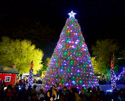Downtown Chandler Christmas Tree Lighting Event Tumbleweed Tree Lighting Parade Of Lights