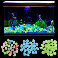 50pcs Glow Pebbles Luminous Stone Rocks Glow In The Dark Garden Pebbles for  Walkways Path Patio Lawn Pool Aquarium Garden Decor|Decorative Pebbles| -  AliExpress