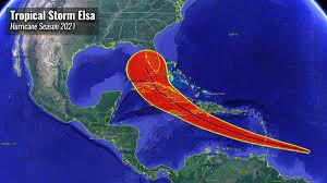 Hurricane season 2021 in the Caribbean ...