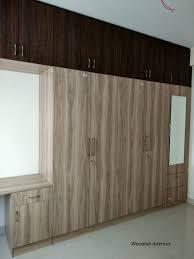 Wardrobe With Dressing Table Designs India Wardrobe Designs Woodlab Interiors