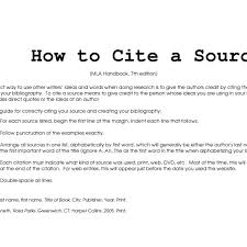 Mla Citation Format Example Citing Sources In Mla Style Enc1102_libraryinstruction Libguides