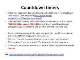 Ppt Countdown Timers Powerpoint Presentation Id 2490544