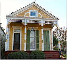 New Orleans Homes And Neighborhoods  Uptown - Exterior doors new orleans