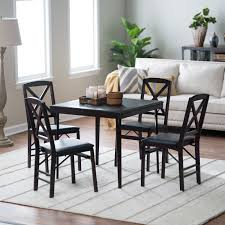 Wood Folding Card Table And Chairs Set With Ideas Picture 1206 | Yoibb
