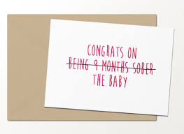 Baby Congrats Note 15 Funny Baby Cards To Give To New Parents Who Are Going To Need A