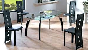 glass top dining table images plush design