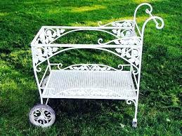 White Metal Garden Furniture White Metal Garden Furniture Popular