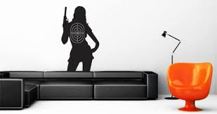 bonnie target wall decal dezign with a z