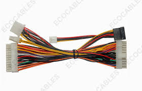 custom multi core power extension cables computer ul1007 molex ls1 computer and wiring harness at Computer Wiring Harness