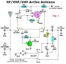 index signal processing circuit diagram com hf vhf uhf active antenna