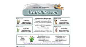 Get Mathbits Com News Math Bits Secondary Math Resources