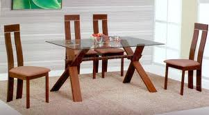 wood and glass table magnificent wooden dining table with glass top dining room top round glass wood and glass table