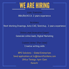 latest jobs and vacancies multiple jobs in bpo solutions global enterprise