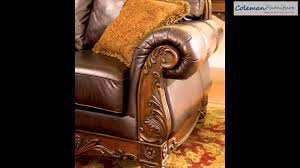 North Shore Living Room Set North Shore Dark Brown Living Room Furniture From Millennium By