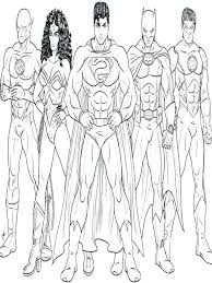Justice League Coloring Pages Justice League Coloring Page Justice
