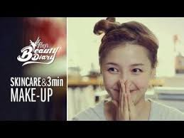 pony s beauty diary skincare and 3min makeup with english subs í ¼ë
