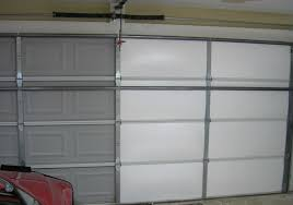 if you have an older door the insulation may need to be replaced if you do not have insulation at all it would be a good idea to add it