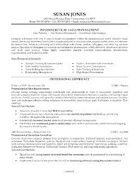 Pharmaceutical Sales Resume Examples Examples Of Resumes