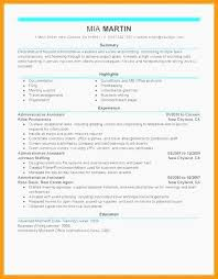 The Modern Resume Awesome Administrative Support Resume Samples Modern Resume Example Examples