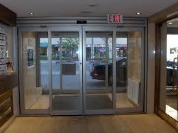 commercial automatic sliding glass doors. Door System Frameless Automatic Sliding Glass Indian Automations Specialist In Fabrications Best Commercial Doors N