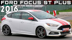 2016 Ford Focus ST Plus Review Rendered Price Specs Release Date ...