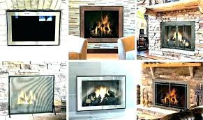 replacement fireplace screen replacement gas fireplace screen
