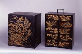 mono no aware and ese beauty works from the exhibition  chest for books of poetry autumn grasses design in maki e lacquer momoyama period 16th century kodai ji zen temple