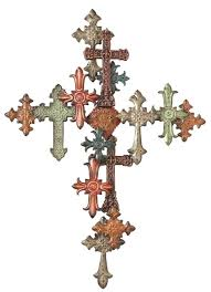 cross wall decor v sanctuary intended for contemporary residence metal cross wall decor prepare