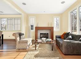 Warm Paint Colors For Living Room Living Room In Parchment Living Rooms Rooms By Color Color