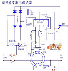index 2 protection circuit control circuit circuit diagram high sensitivity leakage protector circuit diagram