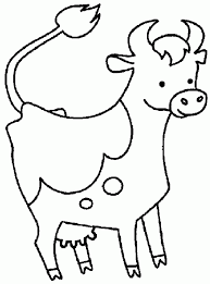 Small Picture Download Coloring Pages Cow Coloring Pages Cow Coloring Pages