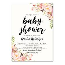 Baby Shower Invitations That Can Be Edited Editable Pdf Baby Shower Invitation Diy Elegant Vintage Watercolor