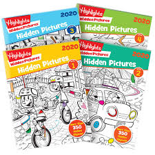 Play the best hidden object puzzle games on your computer, tablet and smartphone. Hidden Pictures 2020 4 Book Set Highlights For Children