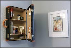suitcase shelf creative diy ideas