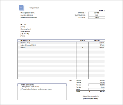 Free Excel Invoice Template Download Excel Invoice Template 31 Free Excel Documents Download Free