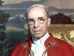 Image result for pius xii with rabbi
